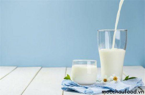 Sữa tươi Mộc Châu nguyên chất thơm ngon