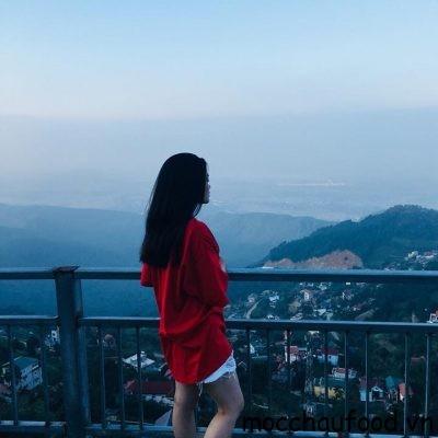 Đứng ở Tam Đảo có thể thấy Hà Nội xa xa