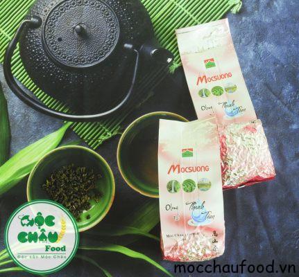 Trà Olong Thanh Tâm. Một sản phẩm của công ty trà Mộc Sương