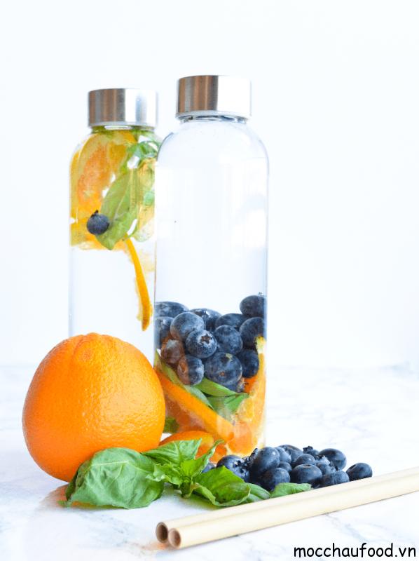 Phương pháp Detox từ cam và việt quất hỗ trợ quá trình giảm cân thành công