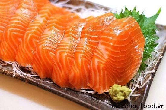 Cá hồi Mộc Châu thơm ngon. Mang giá trị dinh dưỡng cao đặc biệt