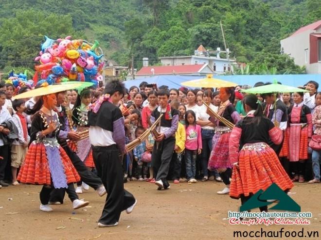 Ngày hội văn hóa các dân tộc Mộc Châu