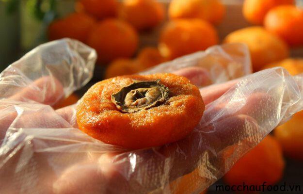 Hồng giòn sấy - Loại quả sấy Mộc Châu chứa nhiều hoạt chất nhất