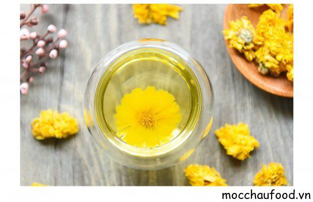 Trà hoa cúc Mộc Châu tốt cho sức khỏe
