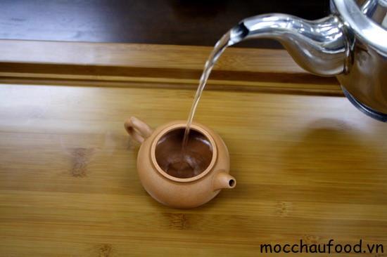 cách pha trà ô long mộc sương